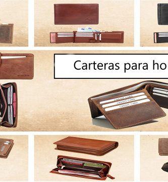 TIPOS DE CARTERAS DE HOMBRE